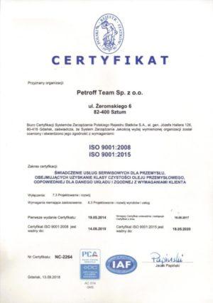 petroff-team_cert9001_2018